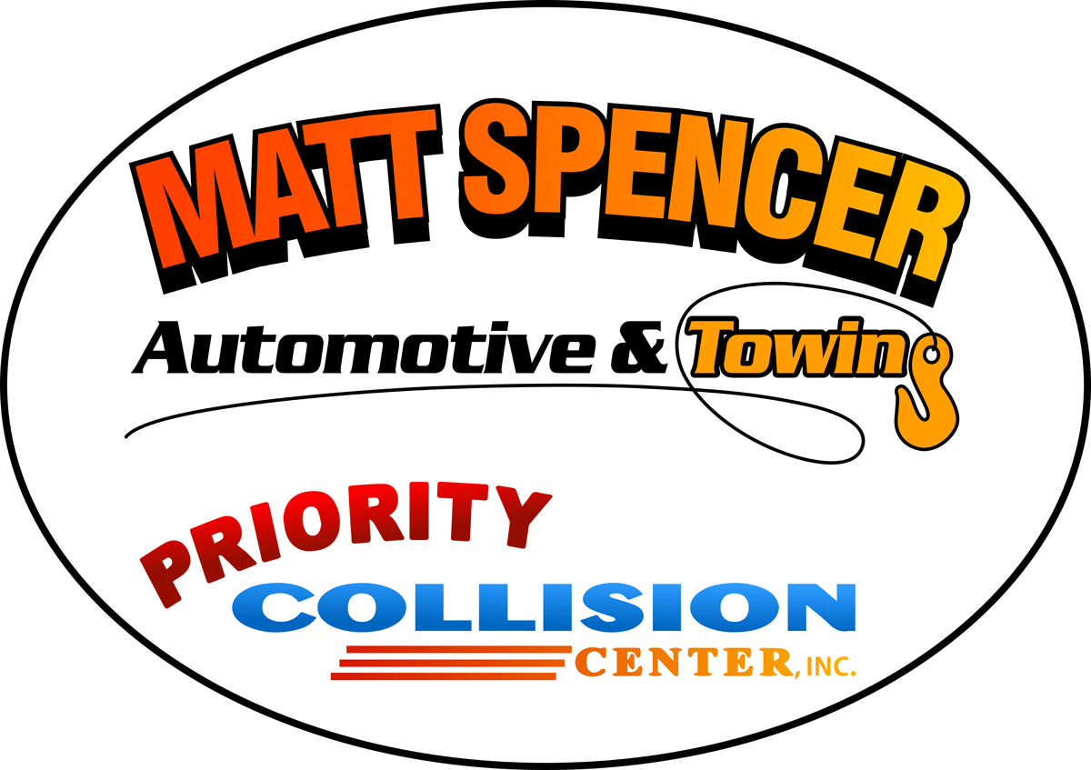 Matt Spencer Priority Collision Logo